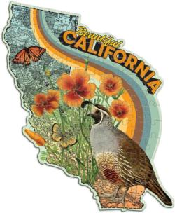 Wendy Gold California California Miniature Puzzle