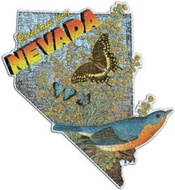 Wendy Gold Nevada (Mini) United States Miniature Puzzle