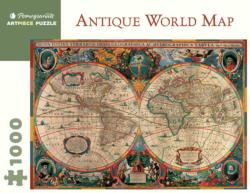 Antique World Map, 1630 Maps / Geography Jigsaw Puzzle