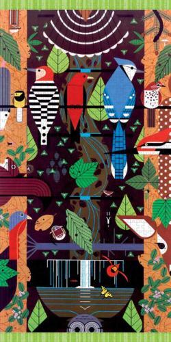 Birducopia Contemporary & Modern Art Jigsaw Puzzle