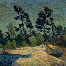 Byng Inlet, Georgian Bay Lakes / Rivers / Streams Jigsaw Puzzle