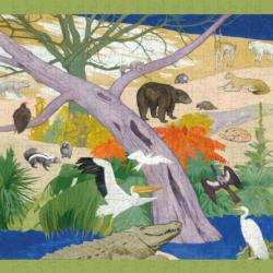 Birds And Animals Of The United States United States Jigsaw Puzzle