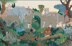 Beyond the Garden Gate Elephants Jigsaw Puzzle