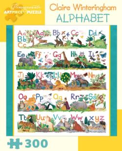 Alphabet Family Fun Jigsaw Puzzle