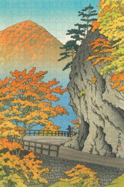 Autumn at Saruiwa Asia Jigsaw Puzzle