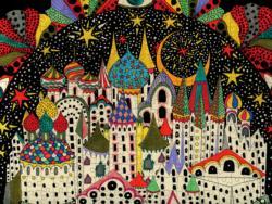Imaginary City Fantasy Jigsaw Puzzle