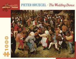 The Wedding Dance Contemporary & Modern Art Jigsaw Puzzle