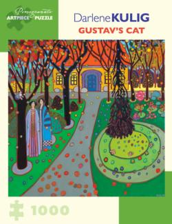 Gustav's Cat Contemporary & Modern Art Jigsaw Puzzle