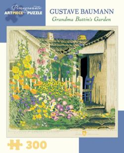 Grandma Battin's Garden Garden Jigsaw Puzzle