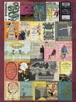 Edward Gorey's Book Covers Collage
