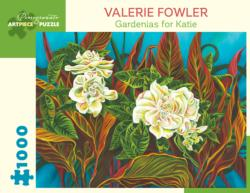 Gardenias for Katie Flowers Jigsaw Puzzle