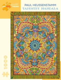 Tapestry Mandala Jigsaw Puzzle