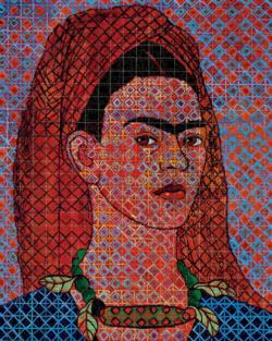 Head Dress Cultural Art Jigsaw Puzzle