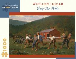 Snap the Whip Americana & Folk Art Jigsaw Puzzle