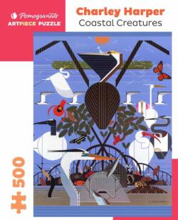 Coastal Creatures Seascape / Coastal Living Jigsaw Puzzle