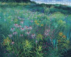 Prairie Meadow Flowers Jigsaw Puzzle