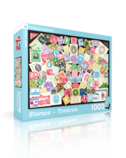 Stamps Everyday Objects Jigsaw Puzzle