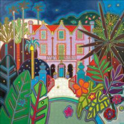 St Nicholas Abbey Landscape Jigsaw Puzzle