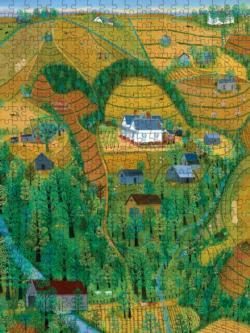 My Parents' Farm Landscape Jigsaw Puzzle