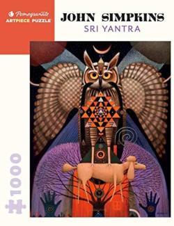 Sri Yantra Owl Jigsaw Puzzle