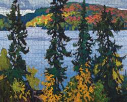 Montreal River Lakes / Rivers / Streams Jigsaw Puzzle