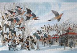 The Last Passenger Pigeon Birds Jigsaw Puzzle