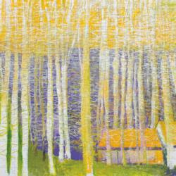 Among Birches Landscape Jigsaw Puzzle