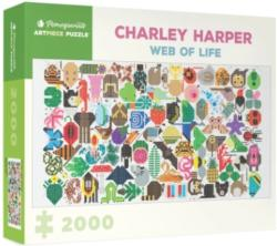 Web of Life Butterflies and Insects Jigsaw Puzzle