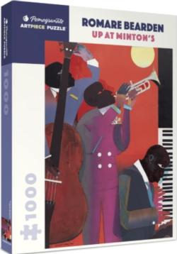 Up at Minton's Music Jigsaw Puzzle