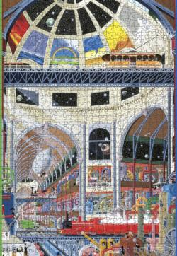 The Weather Works: The Grand Hall Architecture Jigsaw Puzzle