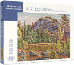 Sunlit Tapestry Lakes / Rivers / Streams Jigsaw Puzzle