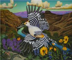 Crossing the Rio Grande Birds Jigsaw Puzzle