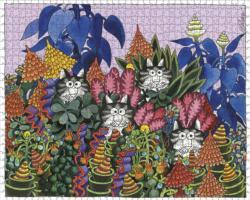 JungleCats Cats Jigsaw Puzzle