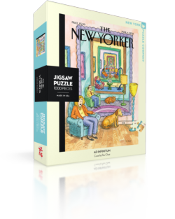 Ad Infinitum (The New Yorker) Nostalgic / Retro Jigsaw Puzzle