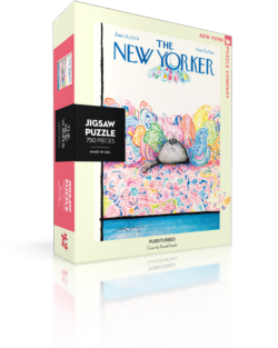 Purr-Plexed (The New Yorker) Nostalgic / Retro Jigsaw Puzzle