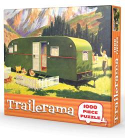 Trailerama Nostalgic / Retro Jigsaw Puzzle