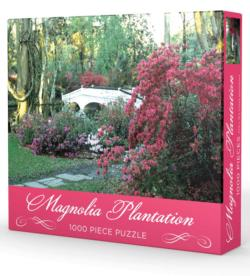 Magnolia Plantation Garden Jigsaw Puzzle