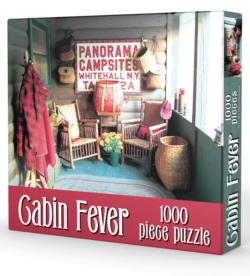 Cabin Fever Cottage / Cabin Jigsaw Puzzle