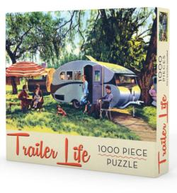 Trailer Life Nostalgic / Retro Jigsaw Puzzle