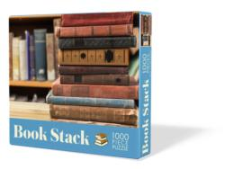 Book Stack Everyday Objects Jigsaw Puzzle