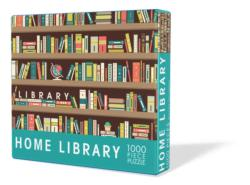 Home Library Everyday Objects Jigsaw Puzzle