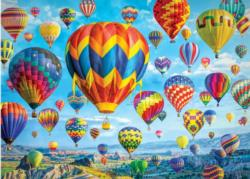Balloons in Flight Balloons Jigsaw Puzzle