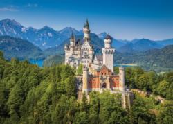 Neuschwanstein Castle Castles Jigsaw Puzzle