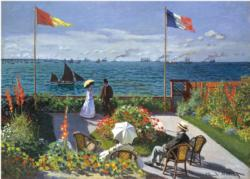 Garden at Sainte-Adresse - Scratch and Dent Impressionism Jigsaw Puzzle