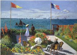 Garden at Sainte-Adresse Impressionism Jigsaw Puzzle