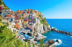 Cinque Terra - Scratch and Dent Seascape / Coastal Living Jigsaw Puzzle