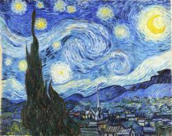 Starry Night Van Gogh Starry Night Jigsaw Puzzle
