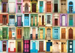 All the Doors Collage Jigsaw Puzzle