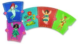 Fantastical Fairies Fairy Ring Fairies Shaped Puzzle