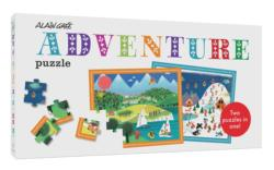 Alain Gree Adventure Puzzle People Floor Puzzle